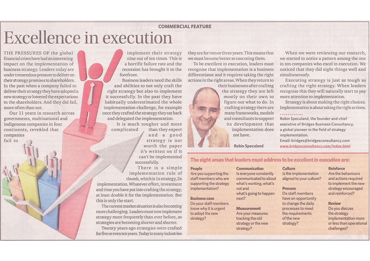 2012-ExecellenceinExecution