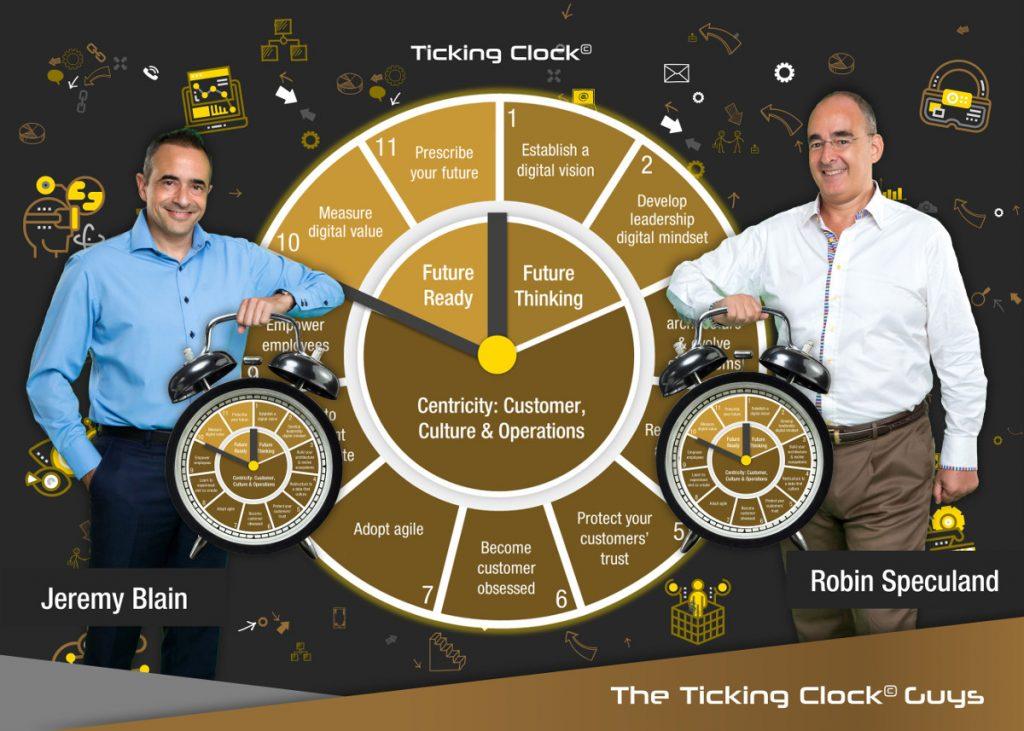 ticking clock guys with name 1200